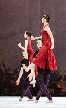 """beethoven projekt ii"", ballett von john neumeier; tänzer: gior"