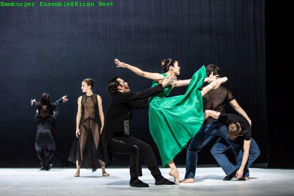 """""""beethoven projekt ii"""", ballett von john neumeier; tänzer v.l:"""