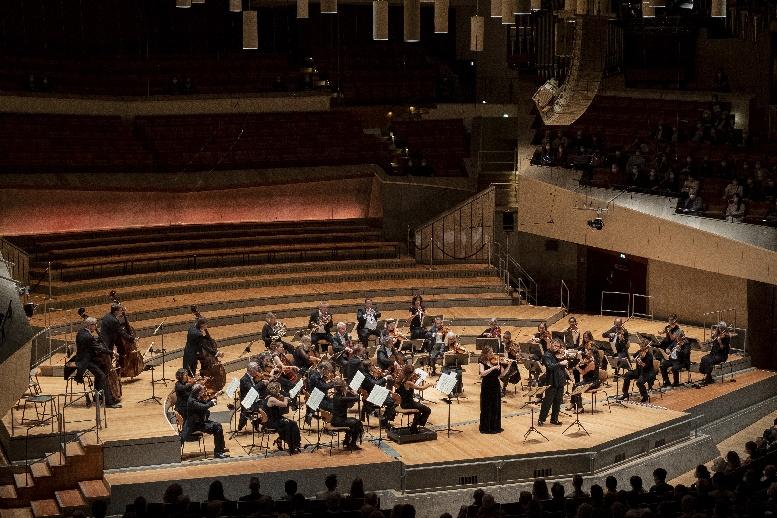 chamber orchestra of europe, solisten veronika eberle und amihai grosz, foto lena laine