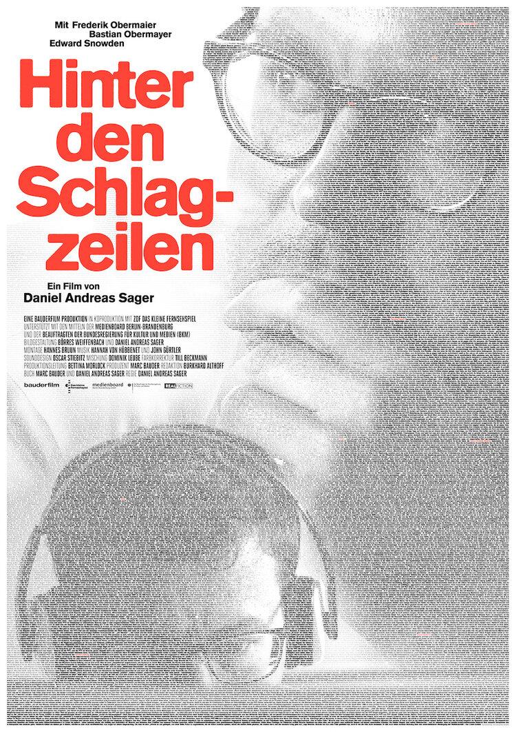 film hinter den schlagzeilen bauderfilm plakat mittel